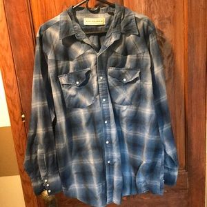 Men's western bit&bridle shirt xl